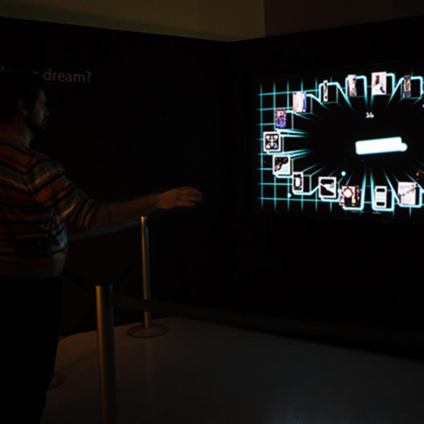 Installazione interattiva al MAXXI