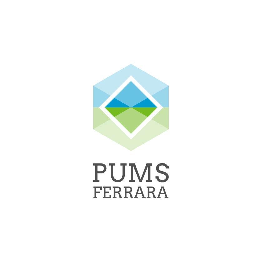 Logo del Piano Urbano della Mobilità Sostenibile di Ferrara